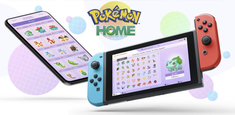 Pokémon Home cloud Storage