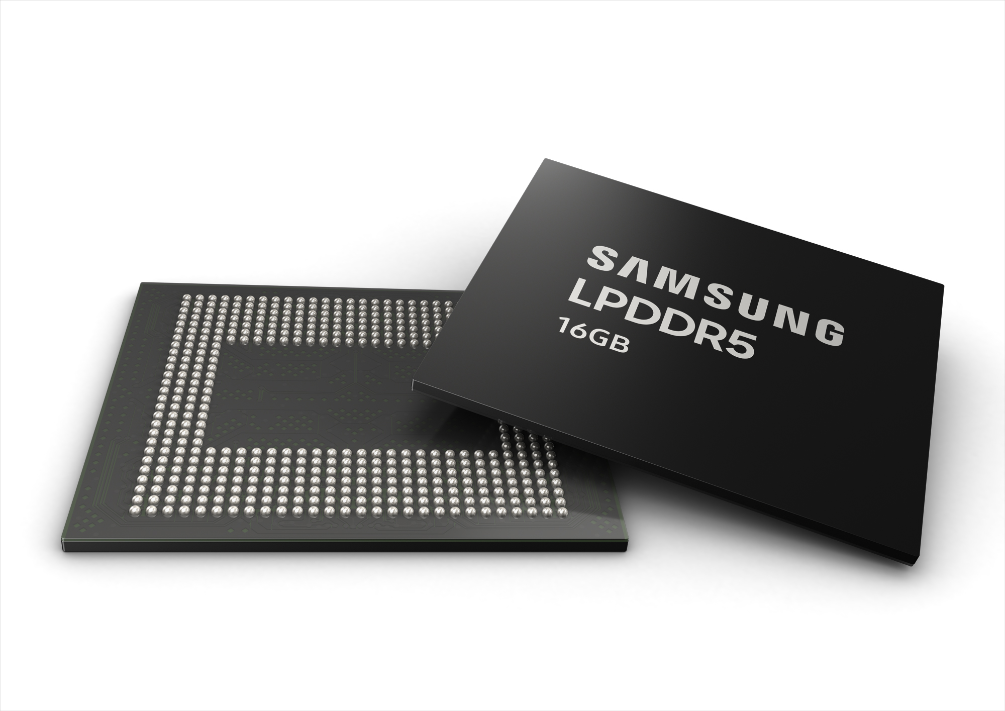 Samsung begins mass production of 16GB LPDDR5 DRAM package for smartphones