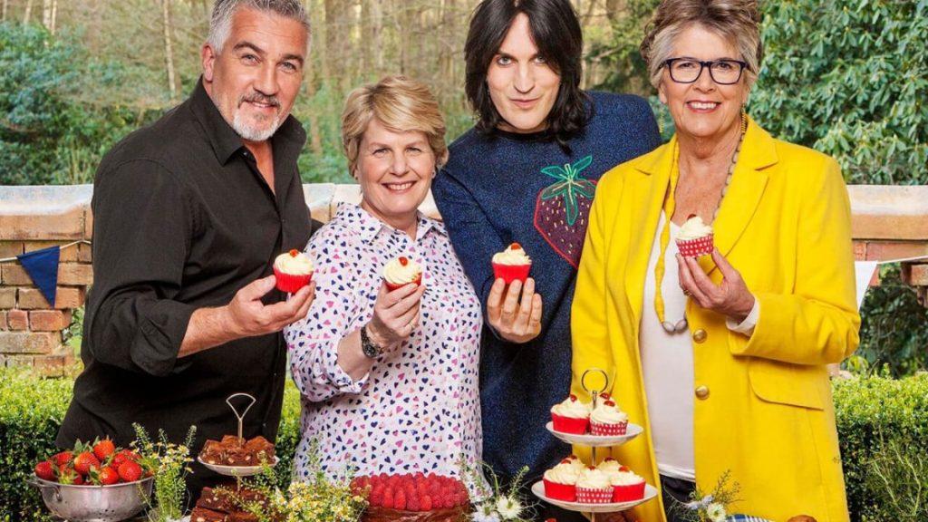 The Great British Bake Off Season 12.